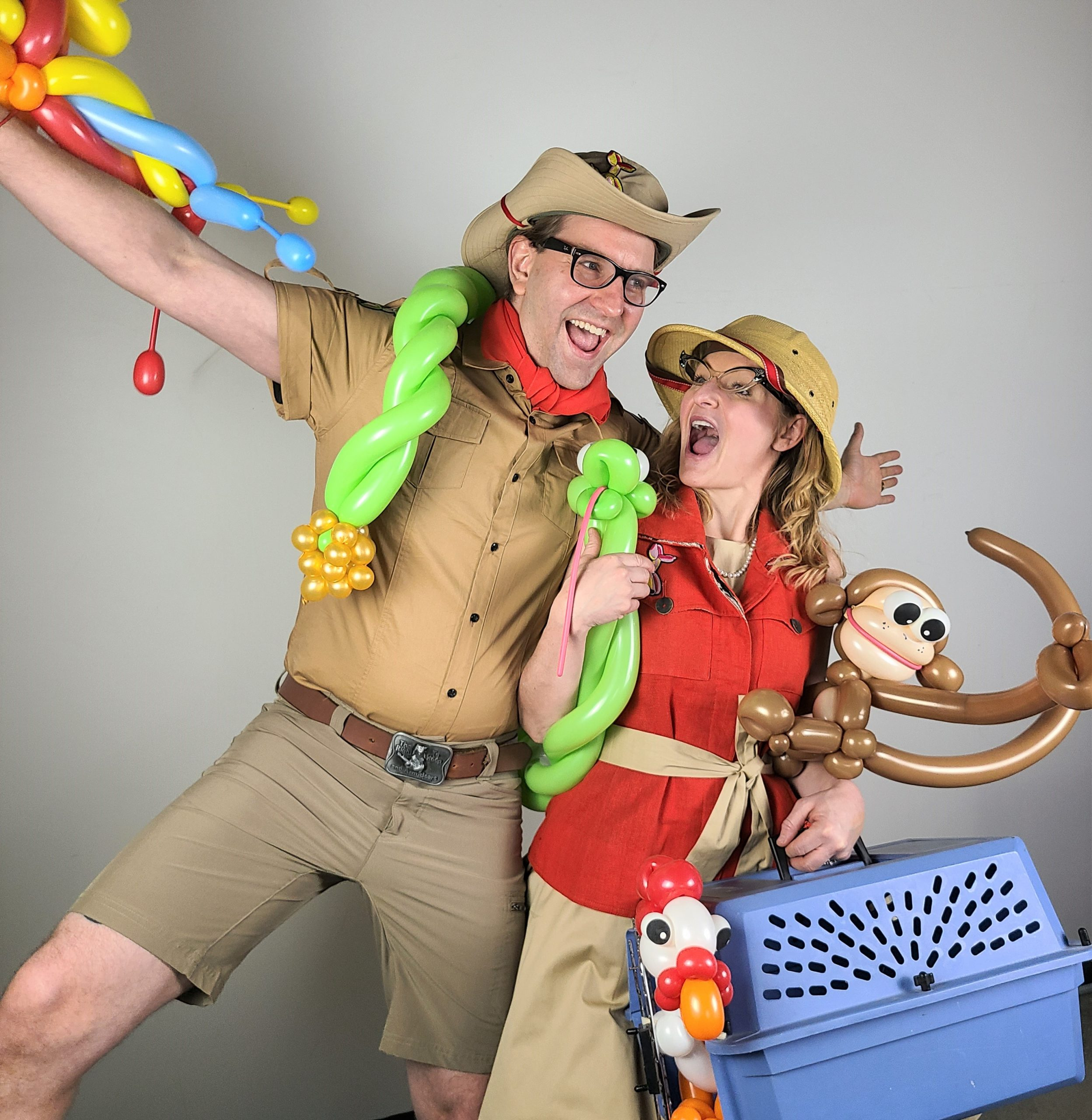 This show is serioulsy fun and silly! Nebraska Kansas Missour and Iowa Libraries and Schools LOVE our animals.